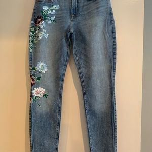 7 For All Mankind Painted Jeans
